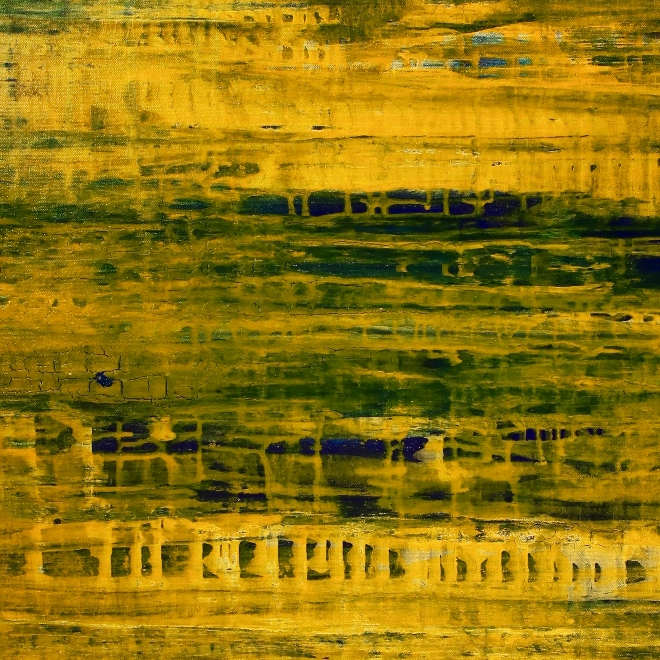 Just like honey (2018) Edit Mixed-media painting by Nestor Toro