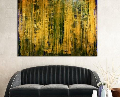 SOLD - Just like honey (2018) Edit Mixed-media painting by Nestor Toro