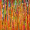 SOLD - Consciousness Garden 2 - (2019) Abstract Acrylic painting by Nestor Toro