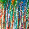 A closer look (Light intrusion 2) by Nestor Toro (2019) Abstract Acrylic painting