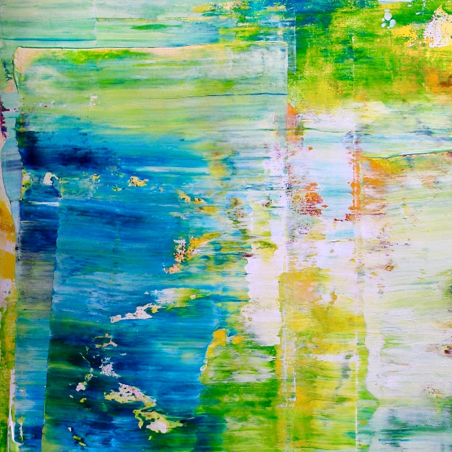 DETAIL - Verdor (Maritime Forest) by Nestor Toro - SOLD