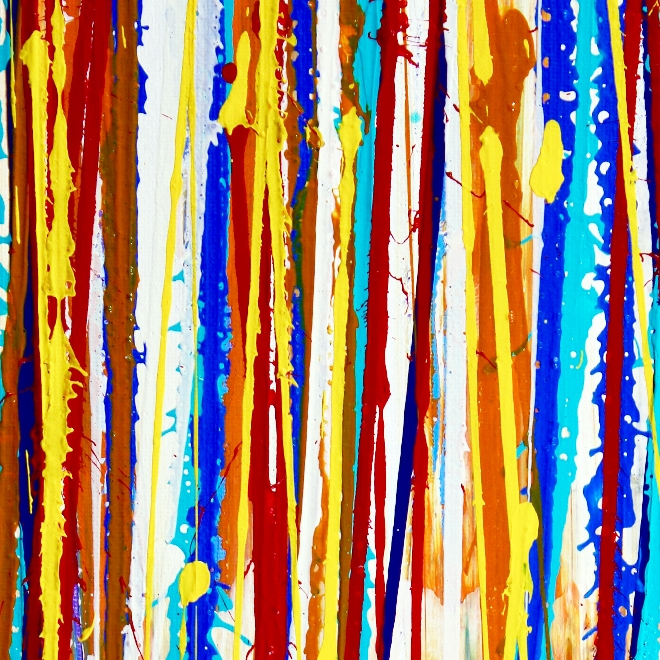 SOLD - Interrupted Panorama 7 / Triptych by Nestor Toro