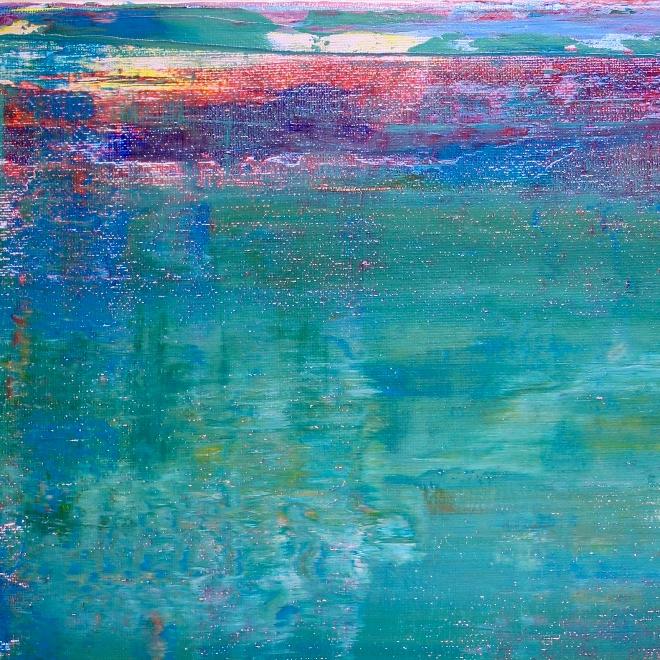 Detail - Shades of Aqua Green by Nestor Toro