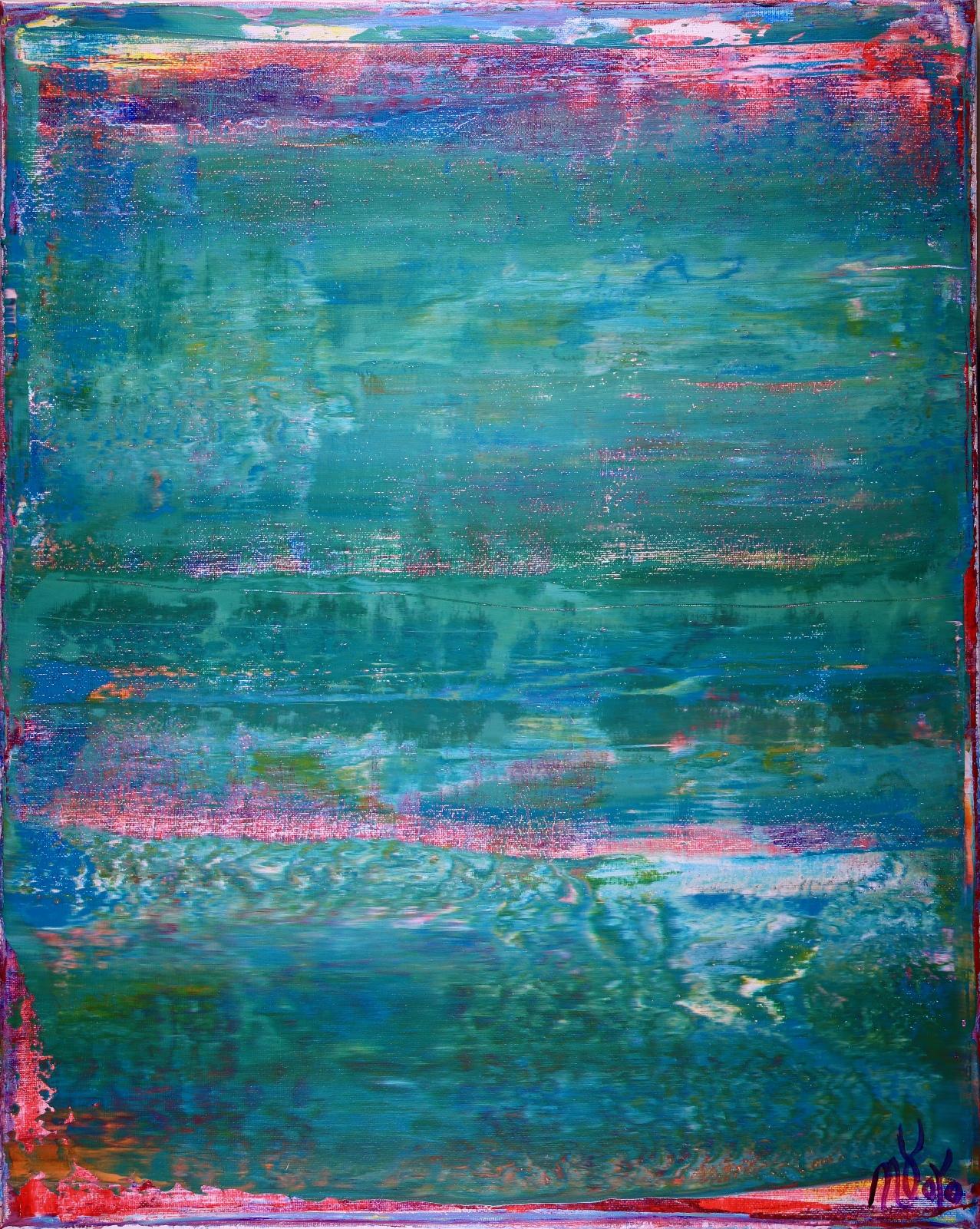 Full Image - Shades of Aqua Green by Nestor Toro
