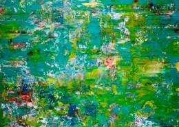 SOLD- Enchanted Greenery (Verdor encantado) by Nestor Toro