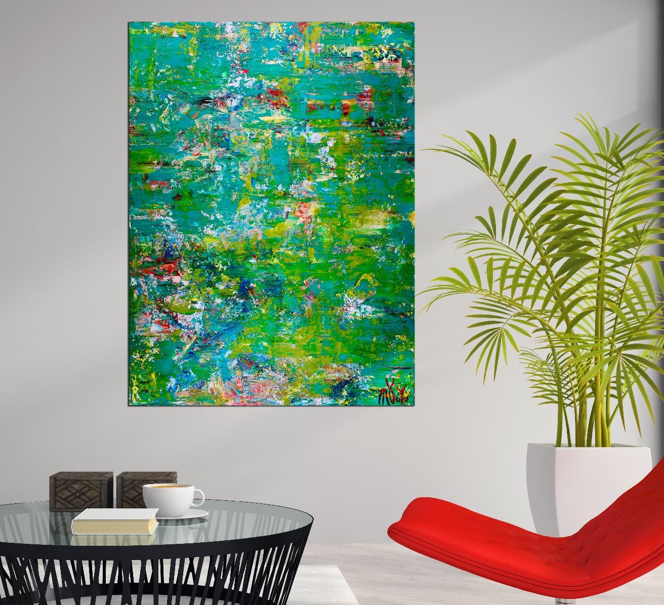 Room View - Enchanted Greenery (Verdor encantado) by Nestor Toro