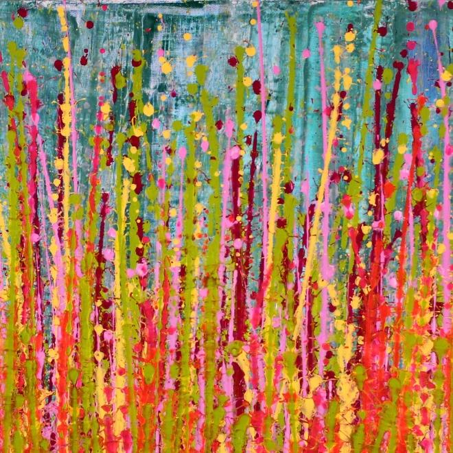 Detail - Awakening garden 1 by Nestor Toro