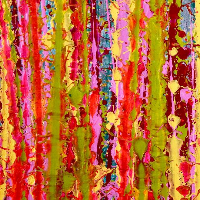SOLD - Awakening garden 1 by Nestor Toro