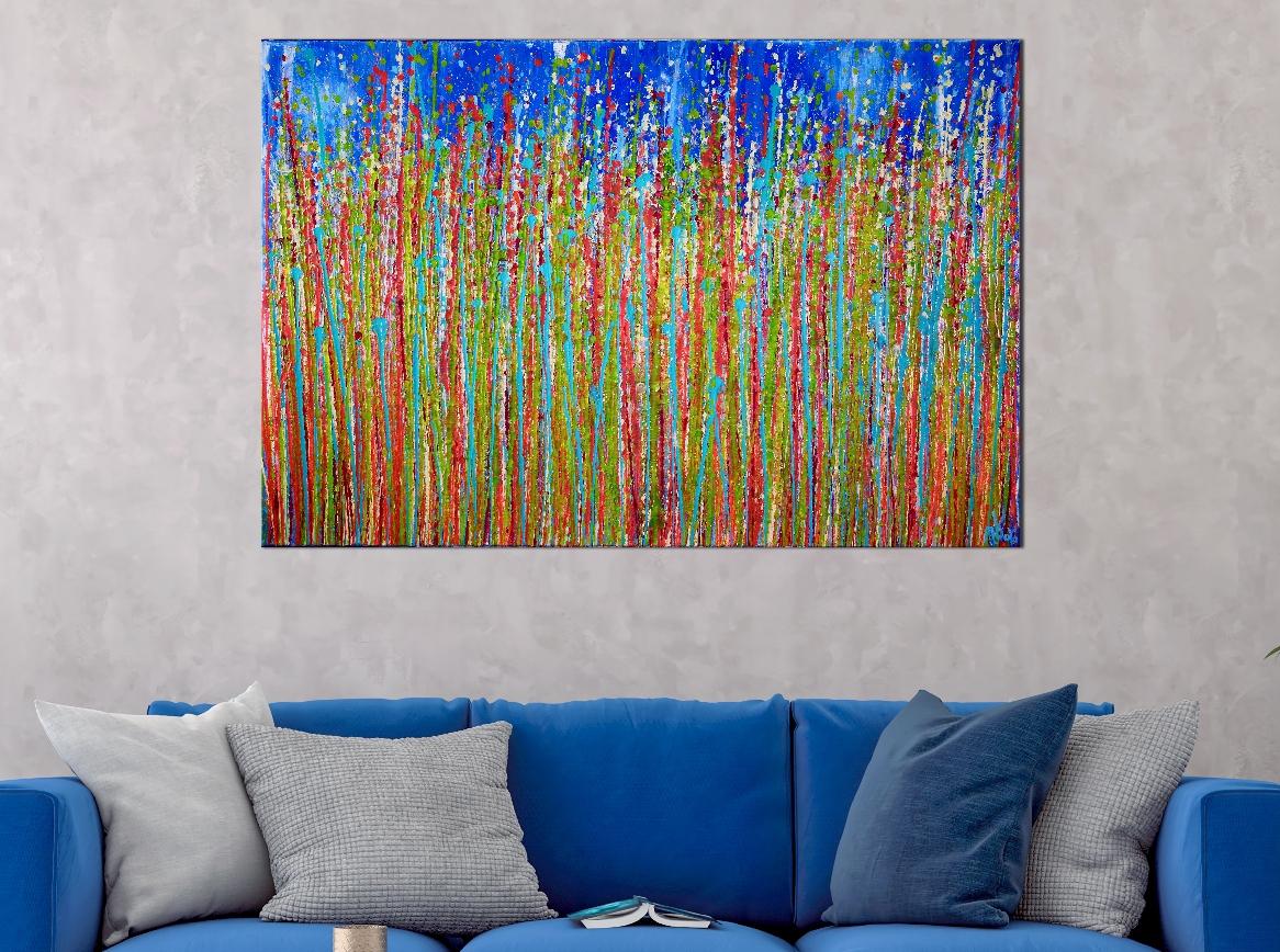 Awakening Garden 3 by Nestor Toro - Ready to hang 24x36 inches