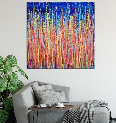 Room View - Awakening Garden 2 by Nestor Toro