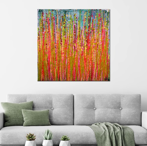 SOLD - Awakening garden 1 by Nestor Toro