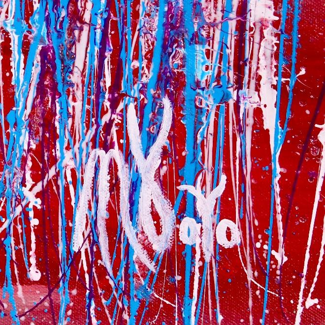 Signature - Detail - A Little Paradise by Nestor Toro
