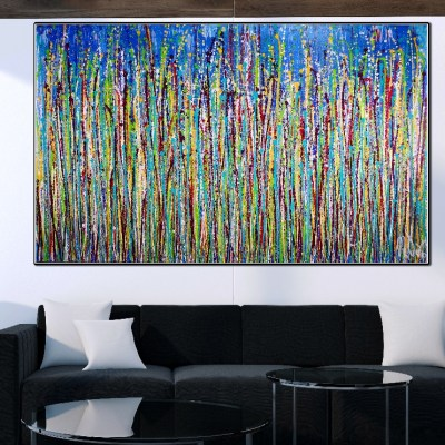 Conspiring with Nature by Nestor Toro (2019) - 60 x 36 inches