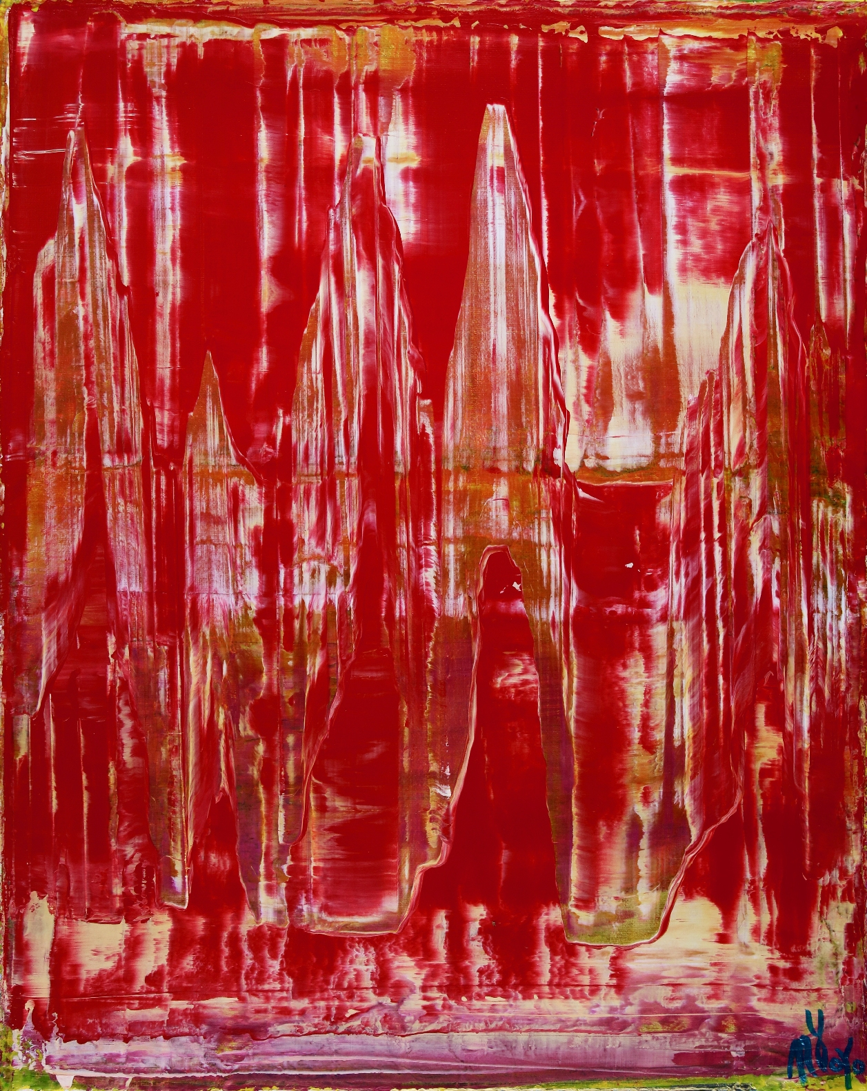 Dimensional Red by Nestor Toro 2019 Los Angeles