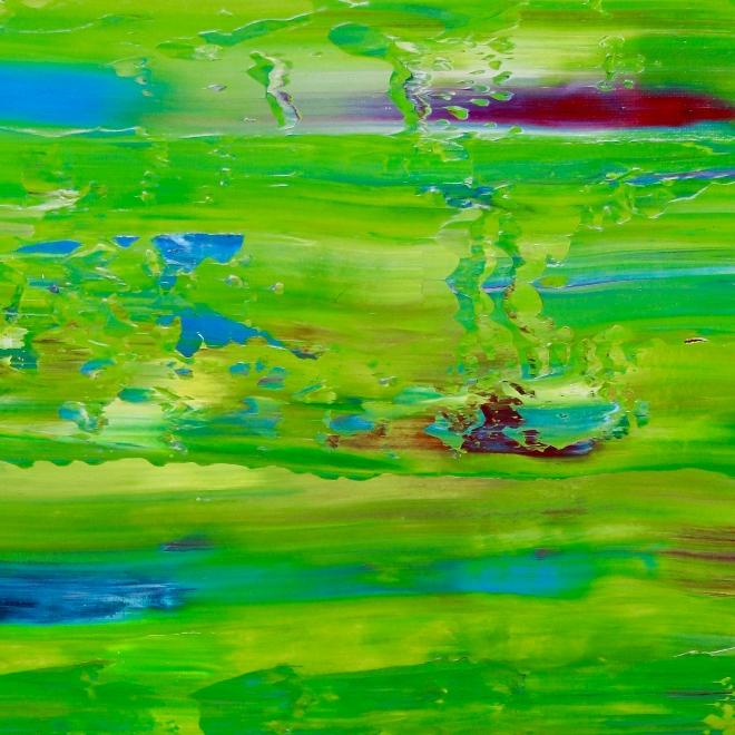 DETAIL - Verde Caribe 2 by Nestor Toro 2019 Los Angeles