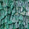 Detail - Green Gravity by Nestor Toro in Los Angeles 2019 - SOLD