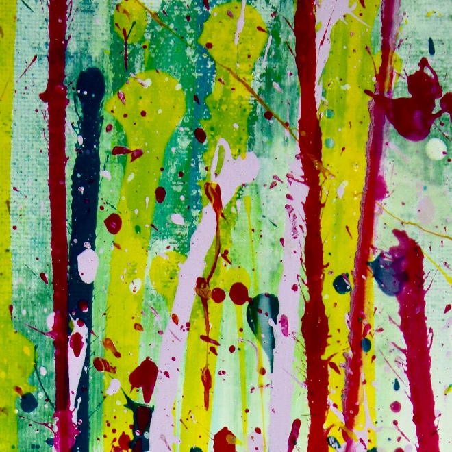 DETAIL - Small Vibrations (Ode To Green) 2 by Nestor Toro 2019