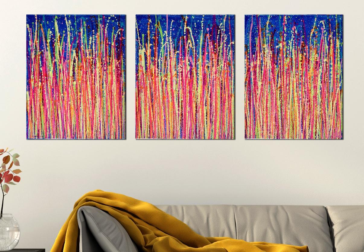 Daydream Panorama 3 (Blinding Lights) by Nestor Toro 2019 - Los Angeles