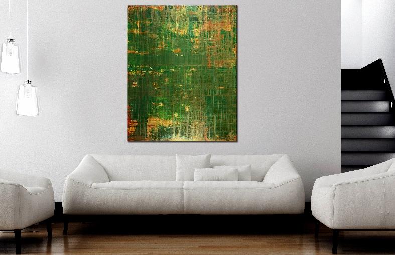 On Solid Ground (Iridescent Spectra) by Nestor Toro
