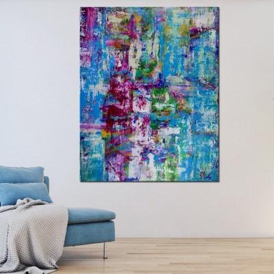 Room View - Celeste Spectra (Amethysts Reflections) by Nestor Toro
