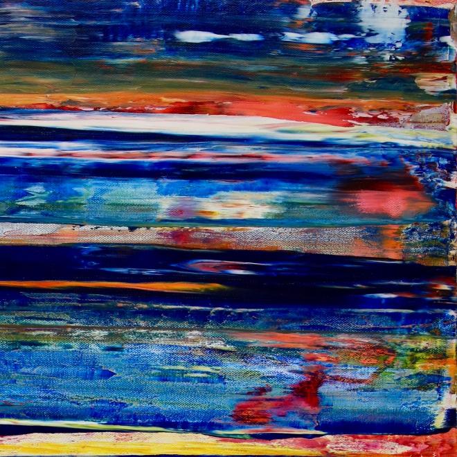 Interrupted Blue Spectra 2 by Nestor Toro in Los Angeles 2019