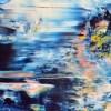 SOLD - Azul infinito 2 (Tide pools) by Nestor Toro (2019) Los Angeles