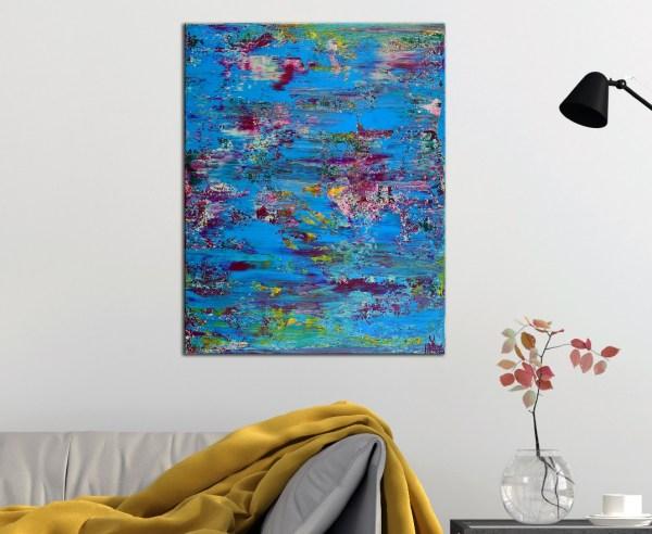 Room View - Celeste Terrain (Amethysts reflections) by Nestor Toro