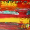 Detail - Daydream (Fiery Spectra) by Nestor Toro in Los Angeles 2019 - SOLD