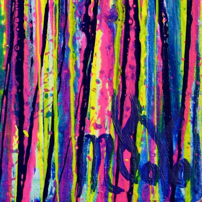 DETAIL - Shimmering Spectra (Bold Dreams) 2 by Nestor Toro in Los Angeles