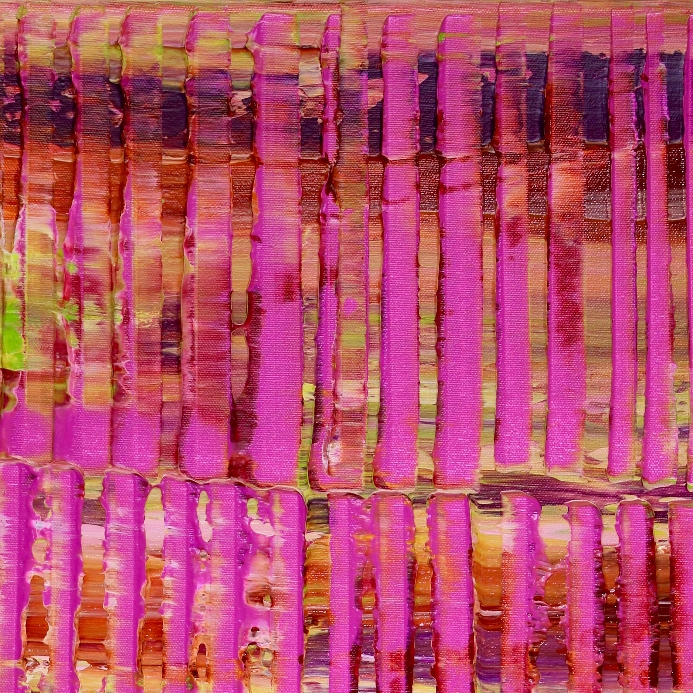 Detail - Pink spectra and lights (2019) Nestor Toro - Los Angeles
