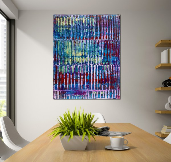 Room View - High above with lights by Nestor Toro 2019 Los Angeles