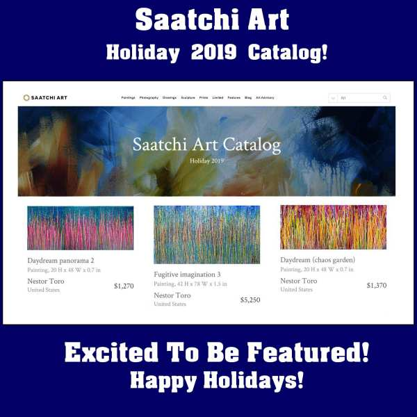Saatchi Art 2019 Holiday Catalog (my work is on page 7)