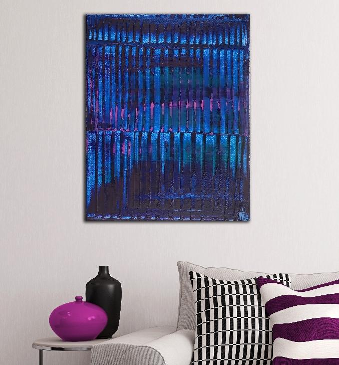 Room View - Nighttime lights by Nestor Toro - Los Angeles