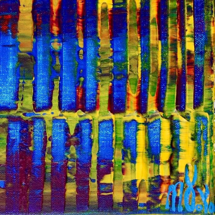 Doors and yellow lights by Nestor Toro / Los Angeles