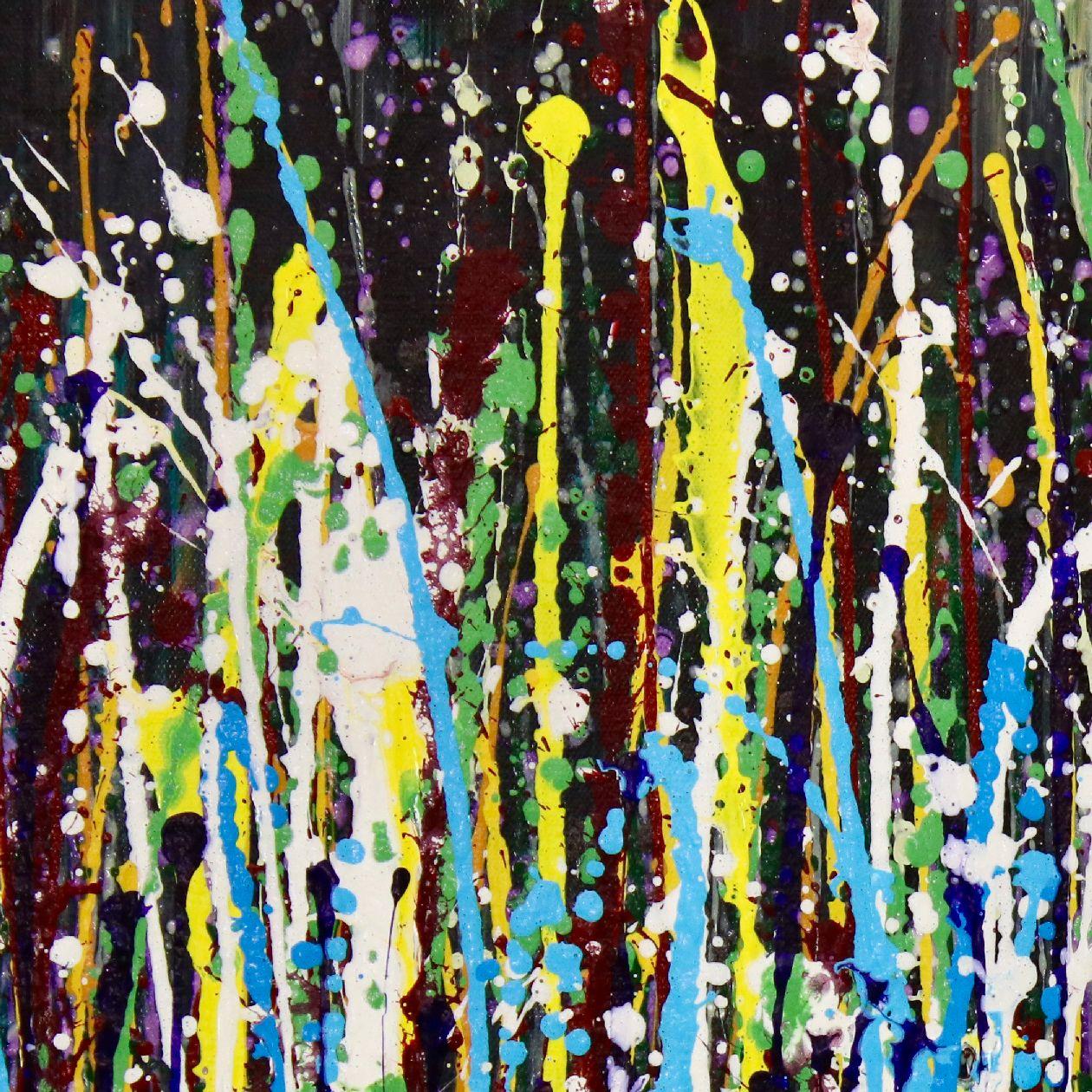 Detail - A Sinful Garden (anochecer) by Nestor Toro