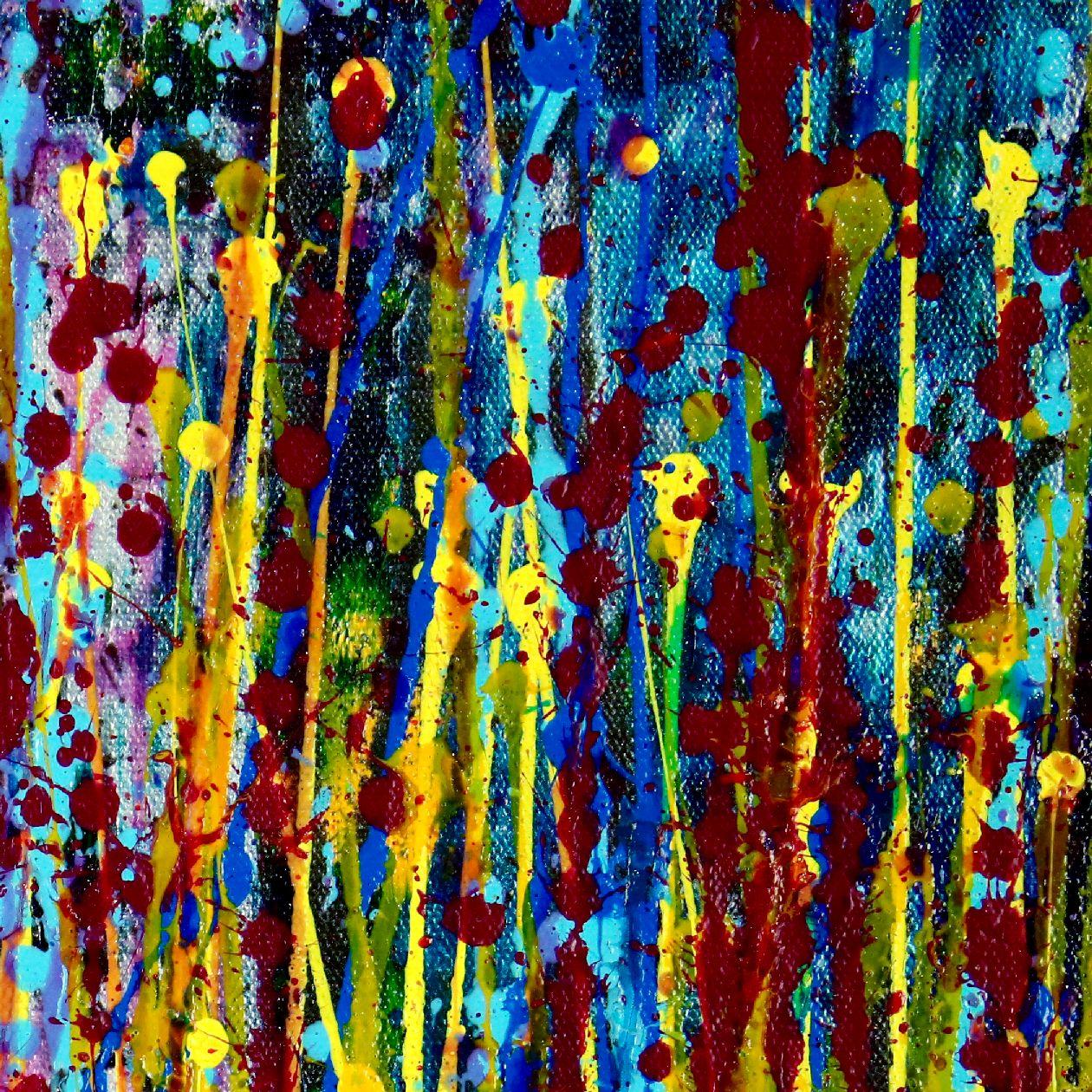 Detail - Blooming Garden 4 (Flow Spectra) by Nestor Toro