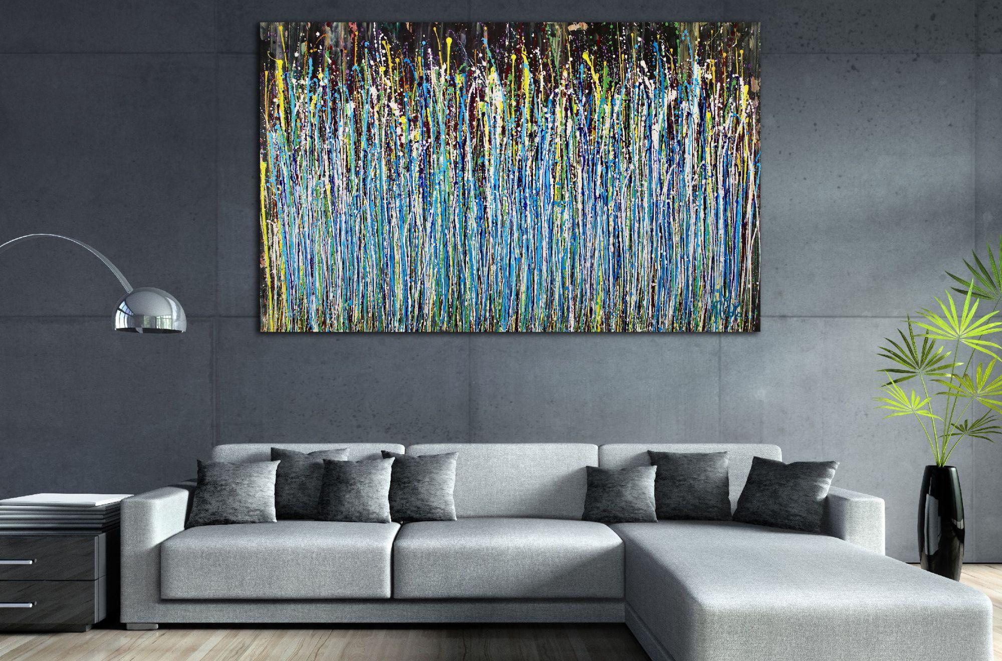 Room View - A Sinful Garden (anochecer) by Nestor Toro