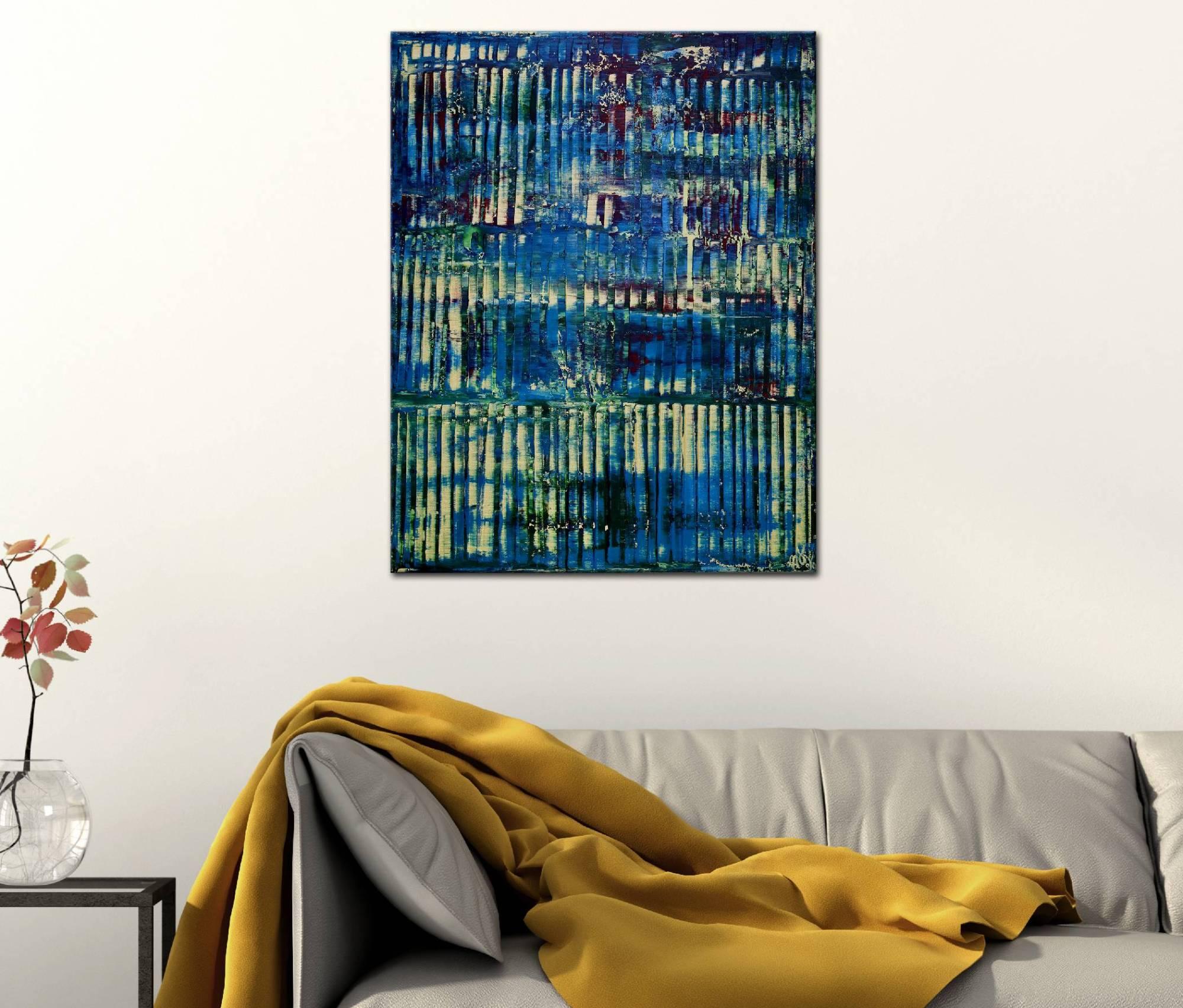 Azure panorama (Golden lights) by Nestor Toro