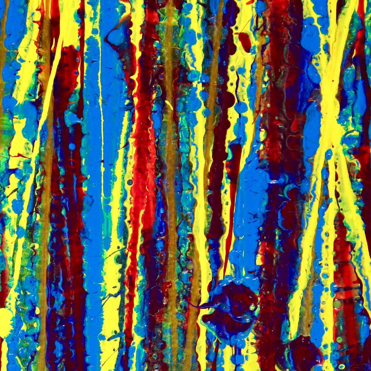 Detail - Shimmering Garden 1 (Flow State) by Nestor Toro 2020