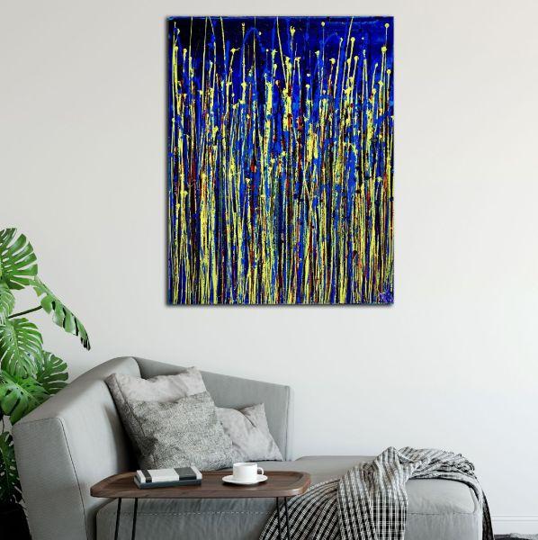 SOLD / Shimmering Garden 1 (Flow State) by Nestor Toro 2020