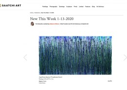 Saatchi Art's - New This Week Collection - January 13, 2020 - Nestor Toro's work - Translucent Forest
