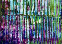 SOLD - Tropics Panorama (Long Trip) 2020 by Nestor Toro