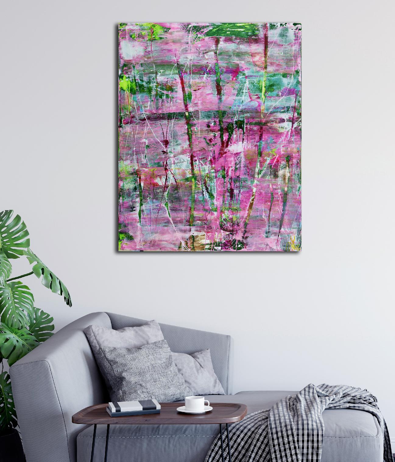 Full Image - 30x24 inches - A Closer Look (Avant Garden) 2 (2020) by Nestor Toro - Los Angeles