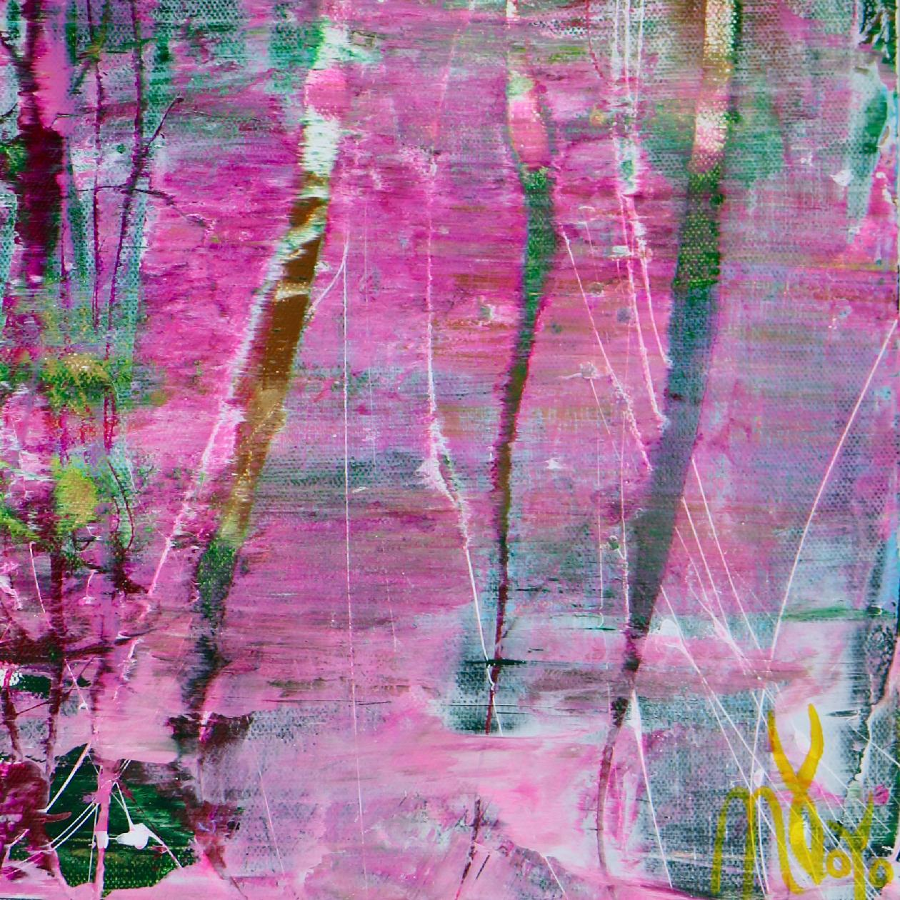 Signature - Full Image - 30x24 inches - A Closer Look (Avant Garden) 2 (2020) by Nestor Toro - Los Angeles