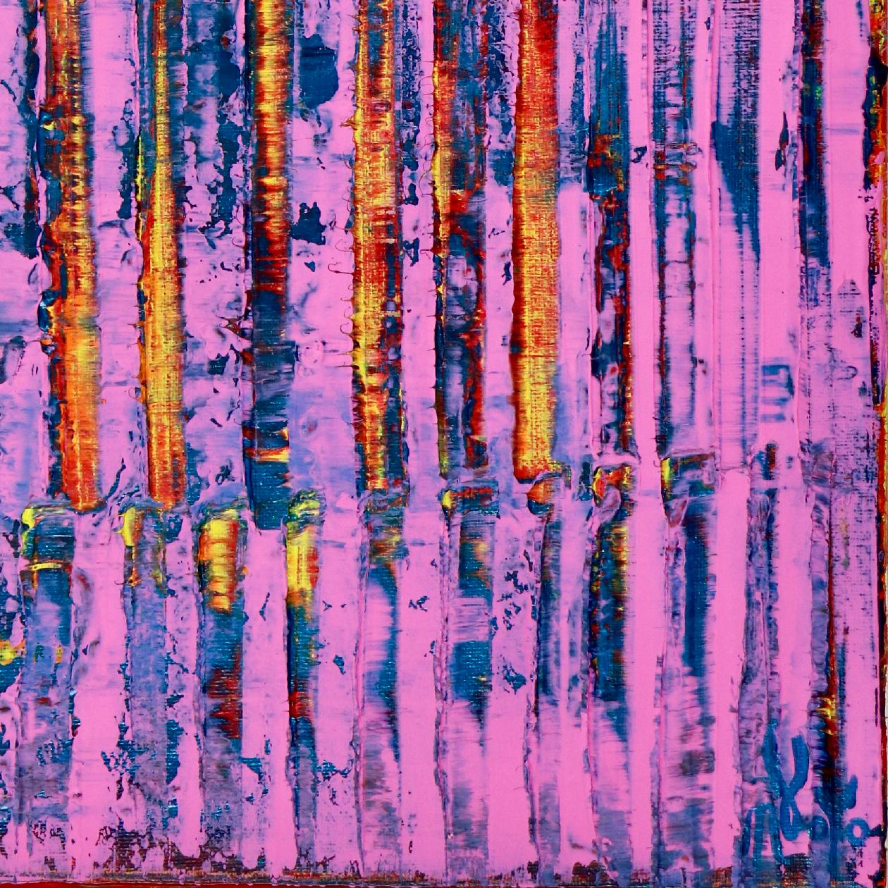 Pink Takeover (Yellow Lights)   Inspired by Nature (2020) by Nestor Toro