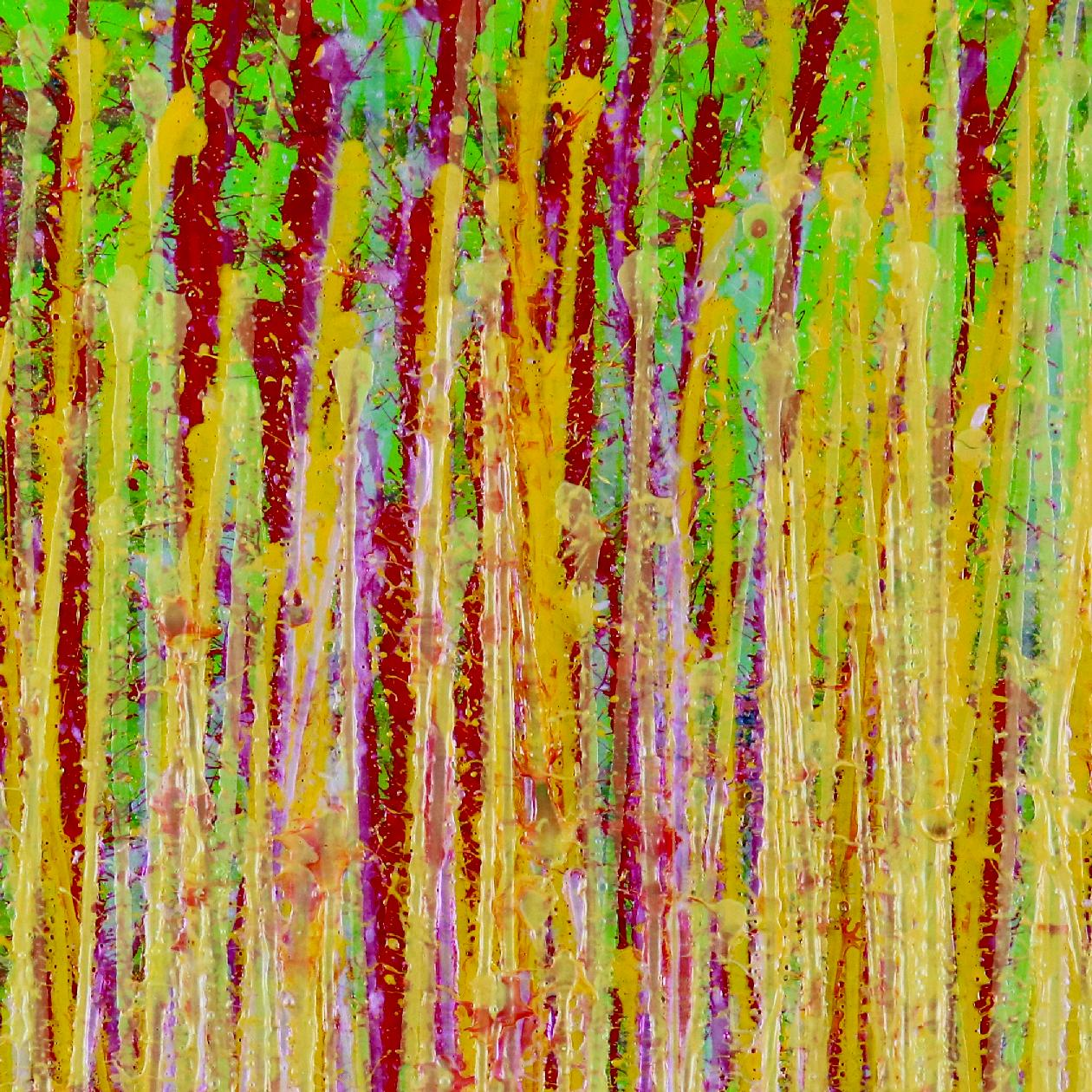 Detail - Awakening Garden 7 (2020) by Nestor Toro