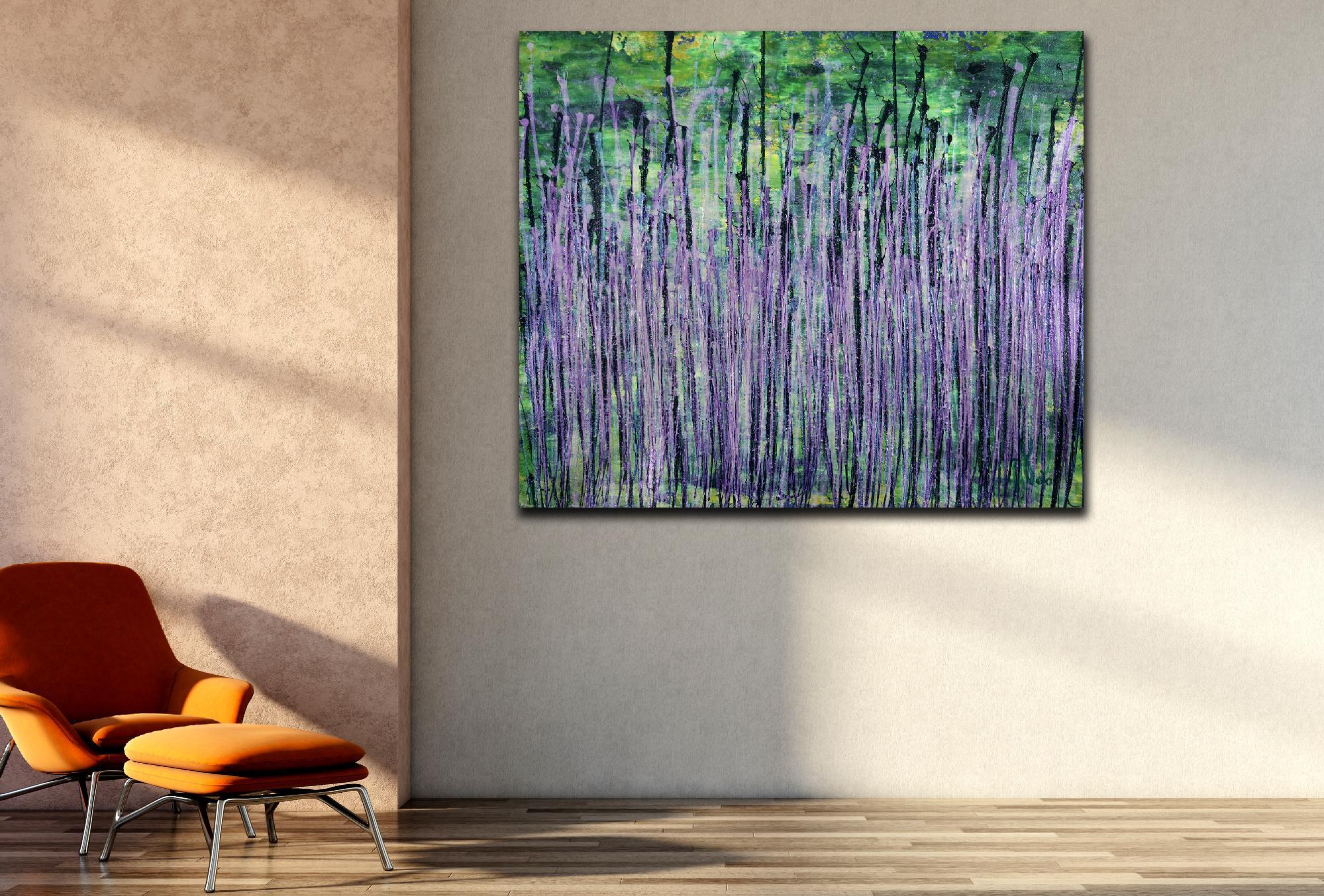 Room View - Natures Synergy (Blinding Lights) 2 (2020) by Nestor Toro