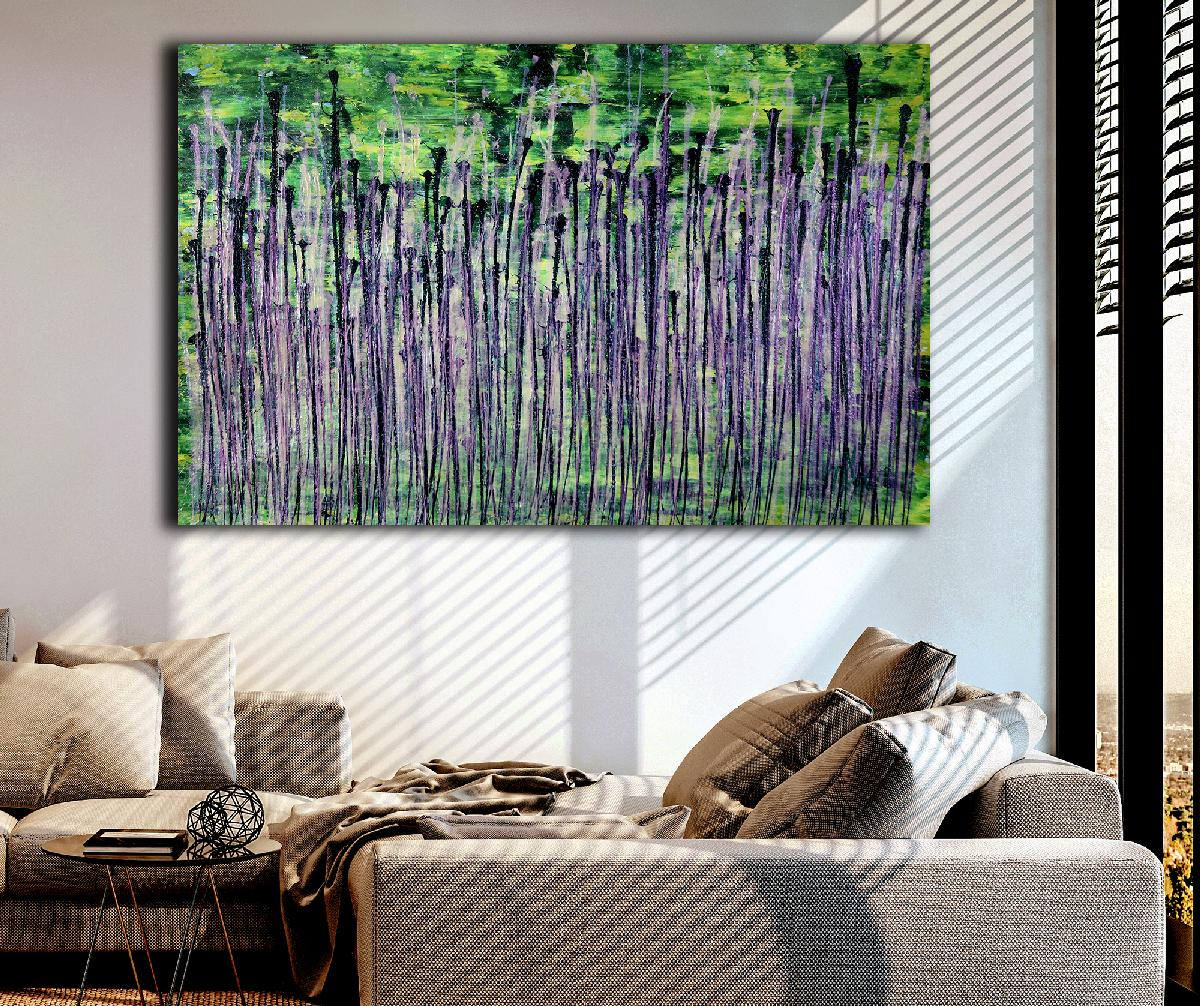Room View - Natures Synergy (Blinding Lights) 1 2020 by Nestor Toro