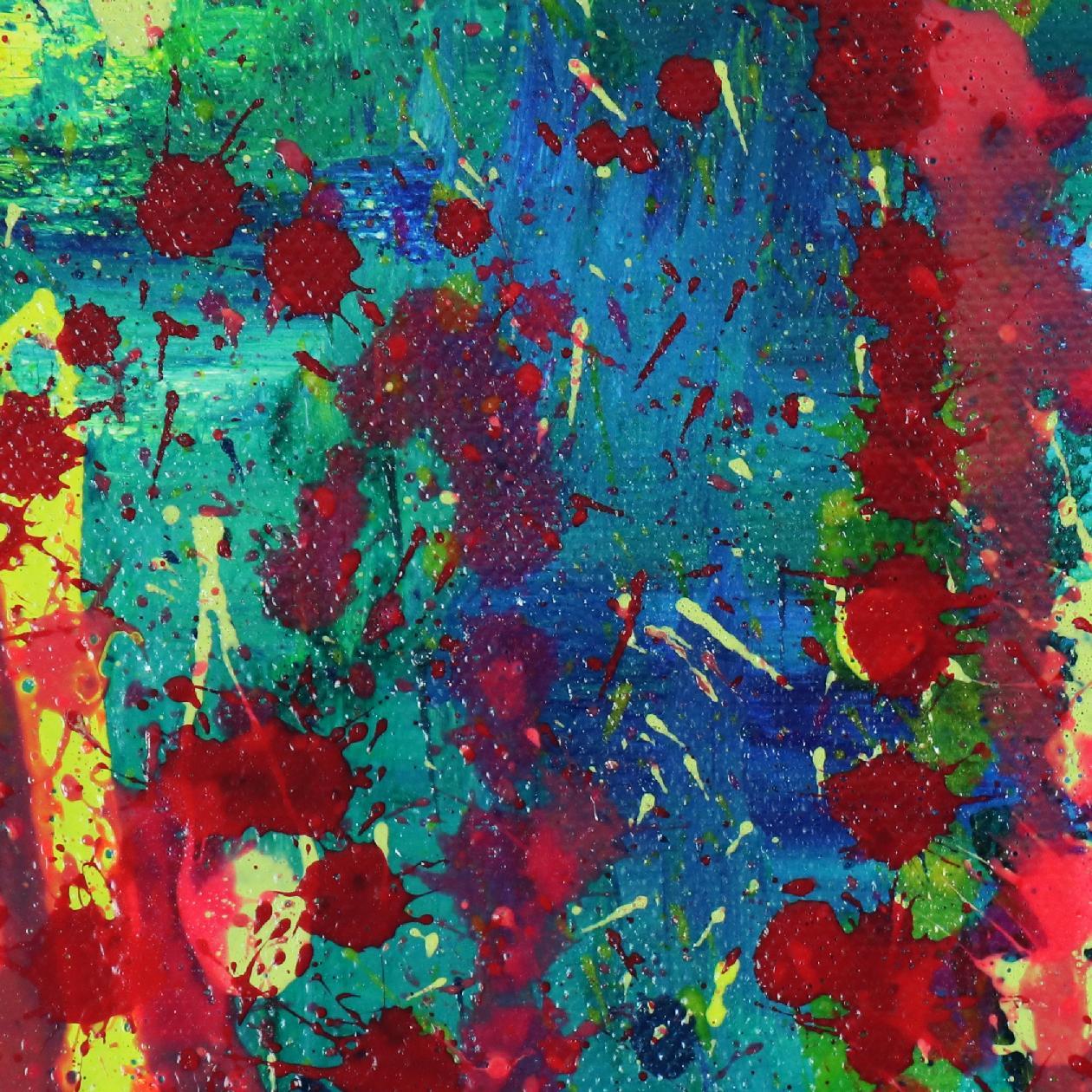 Detail - Prophesy Garden (2020) by Nestor Toro