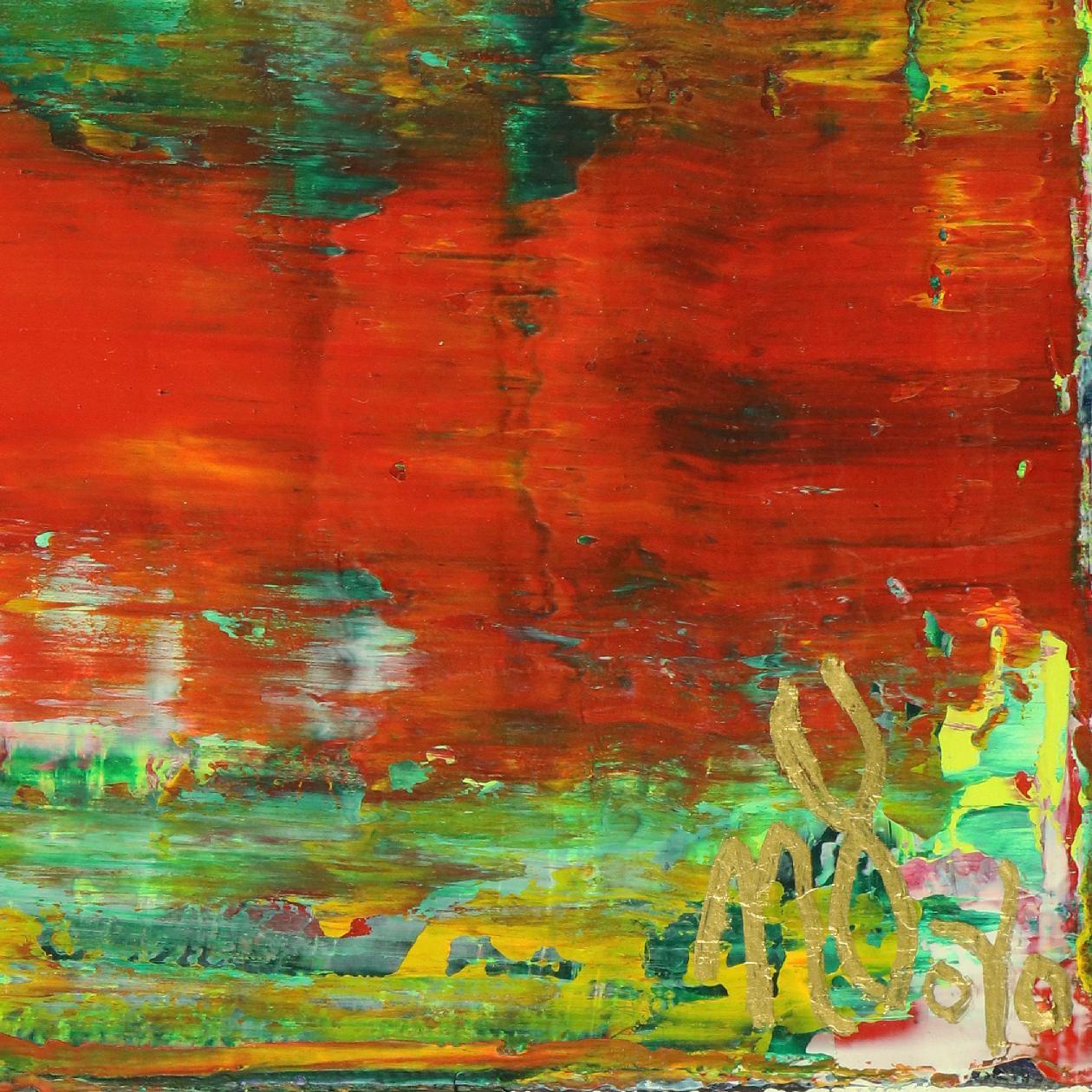 Rojo Infinito (Fiery Spectra) #1 (2020) by Nestor Toro - SOLD